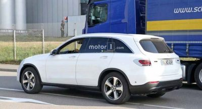 Фото нового Mercedes-Benz GLC