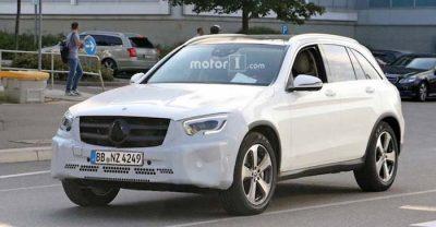 Фото нового Mercedes-Benz GLC