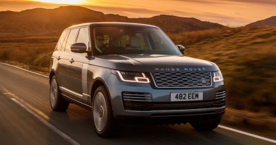 Обновленный Range Rover для РФ