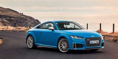 Обновлённое купе Audi TT