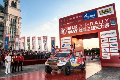 AUTO - SILK WAY RALLY 2018