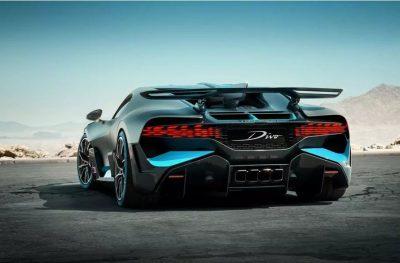 Новый суперкар - Bugatti Divo