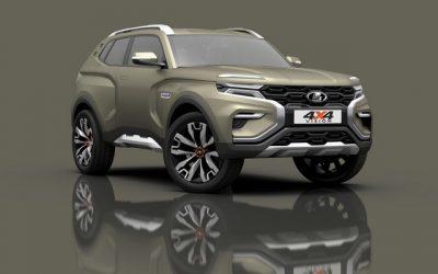 АвтоВАЗ представил концепт LADA 4x4