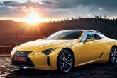 Lexus LС500 Yellow Edition
