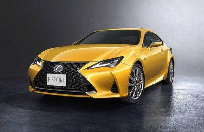 Lexus обновил купе RC