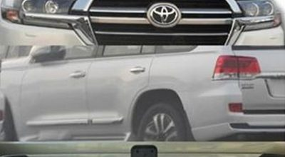 Фото обновленного Toyota Land Cruiser 200