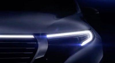Тизер нового Mercedes EQ