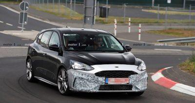 Новый Ford Focus ST засекли на тестах