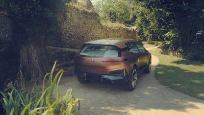 Дизайн нового электро кроссовера BMW