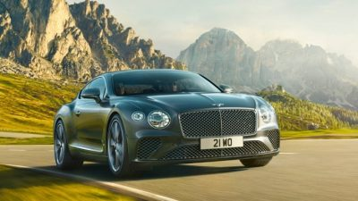 Купе Bentley Continental GT в РФ