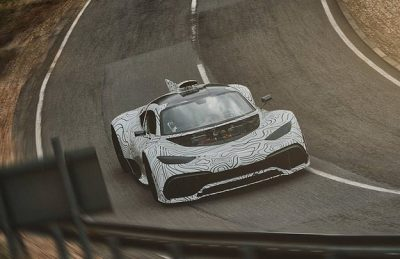 Тестам гиперкара Mercedes Project One