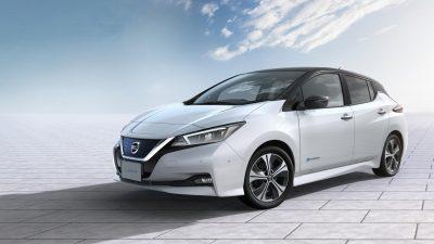 Новый Nissan Leaf сертифицировали для РФ