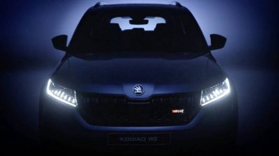Видеотизер нового Skoda Kodiaq RS