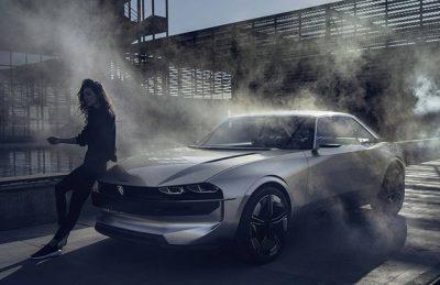 Peugeot показал e-LEGEND