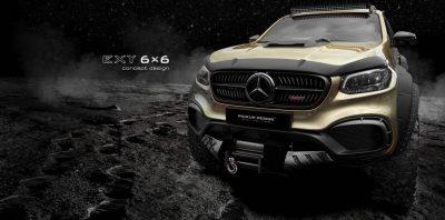 Mercedes X-Class станет шестиколесным