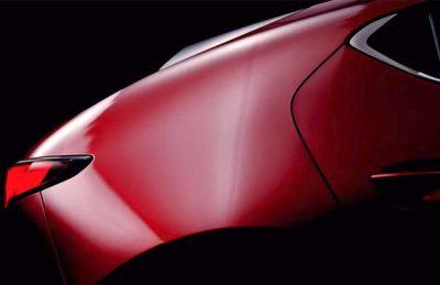 Тизер новой Mazda3