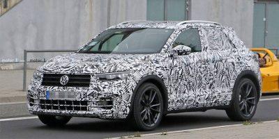 Видео сверхмощного Volkswagen T-Roc