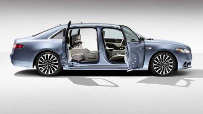 Lincoln Continental c заднепетельными дверьми