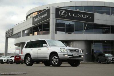 миллионном пробеге Lexus LX 470
