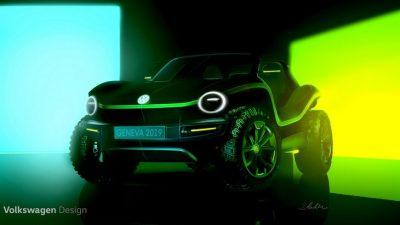 Volkswagen построил электрический багги