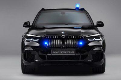 Компания BMW представила бронированный кроссовер X5 Protection VR6.