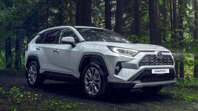 Новый Toyota RAV4 для РФ — подробности