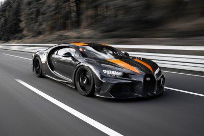 Bugatti Chiron побил рекорд скорости