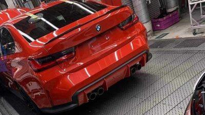 Новый BMW M3 без камуфляжа