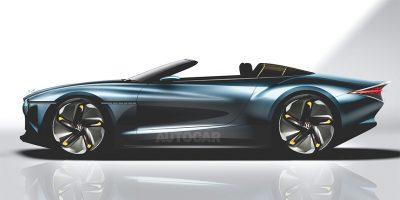 Bentley выпустит роскошный кабриолет