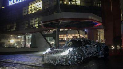 Maserati показала новый спорткар