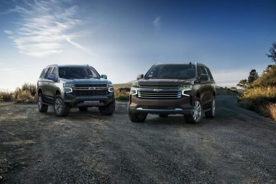 Chevrolet Tahoe и Suburban