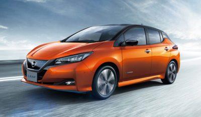 Nissan обновила Leaf