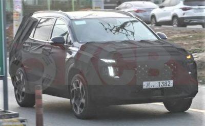Новая модификация южнокорейского кроссовера Hyundai Santa Fe появится в российских автосалонах уже в этом году.
