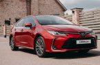 31 января в России стартовал прием заказов на обновленный седан Toyota Corolla.