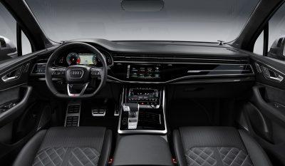 Стоимость обновленного Audi SQ7 в России
