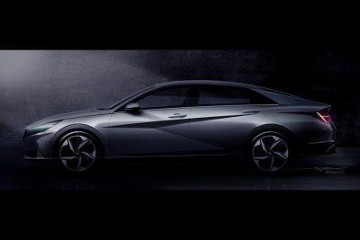 Hyundai показала на видео новую Elantra/Avante