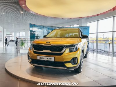В России стартовали продажи Kia Seltos