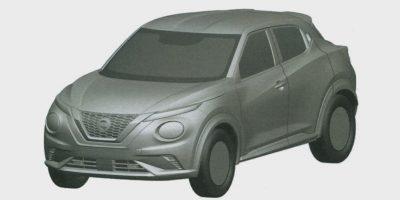 Nissan запатентовал новый Juke в РФ