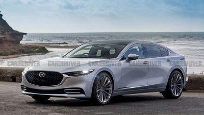 Японская компания планирует представить новую генерацию своего седана Mazda 6.
