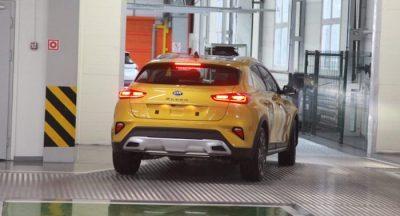 На Калининградском заводе «Автотор» началось производство нового купе-кроссовера KIA XCeed
