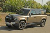 Land Rover приступил к дорожным испытаниям «заряженной» модификации внедорожника Defender нового поколения — с двигателем V8.