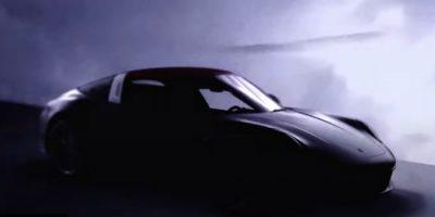 Новый Porsche 911 Targa