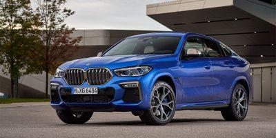 BMW запустила производство нового X6 в России