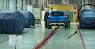 Новая модель Lada засветилась на видео