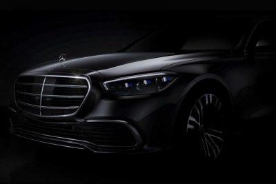 Баварский производитель распространил первое официальное изображение автомобиля S-Class.