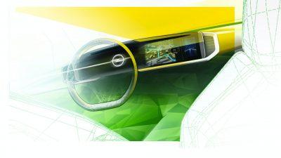 Новый Opel Mokka станет первой моделью марки с цифровым детокс-кокпитом Pure Pane.
