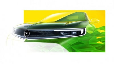 Компания Opel показала тизер нового поколения компактного кроссовера Mokka, который покажут в 2020 году.