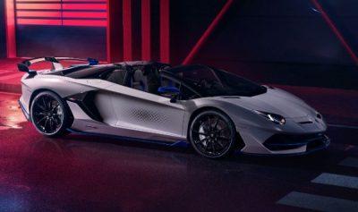 Состоялась презентация Lamborghini Aventador SVJ Roadster