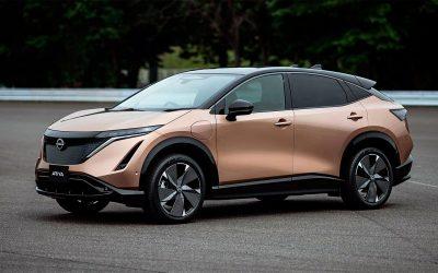 Nissan представил электрический кроссовер Ariya