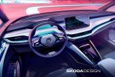 Skoda раскрыла салон электромобиля Enyaq iV